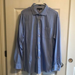 Tommy Hilfiger slim fit dress shirt 17 1/2 34-35